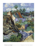 Houses at Auvers Poster by Vincent van Gogh