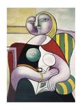La lecture (Woman Reading) Kunstdruck von Pablo Picasso
