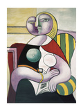 La lecture (Woman Reading) Print by Pablo Picasso