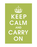 Keep Calm (kiwi) Prints by  Vintage Reproduction