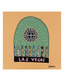 Las Vegas Snow Globe Prints by Brian Nash