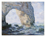 Claude Monet - La Manneporte (Etretat), 1883 - Poster