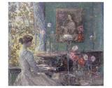 Improvisation, 1899 Poster von Childe Hassam