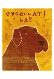 Lab (chocolate) Prints by John W. Golden