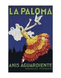 La Paloma Prints by  Vintage Poster