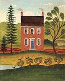 House and Lake Posters par Diane Ulmer Pedersen