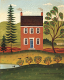House and Lake Posters by Diane Ulmer Pedersen