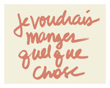 Je voudres Posters by  Urban Cricket