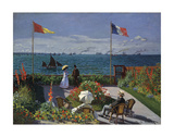 Jardin a Sainte-Adresse, 1866/1867 Prints by Claude Monet
