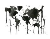 It's a Black and White World Affiches par Jessica Durrant