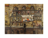House Wall on the River, 1915 Posters by Egon Schiele