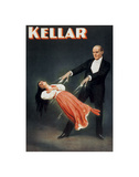 Kellar: Levitation Poster by  Vintage Reproduction