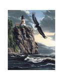 Lighthouse Cliff Art par Kevin Daniel