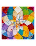 Kaleidoscopic Posters by James Wyper