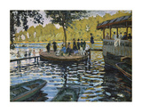 La Grenouillere, 1869 Prints by Claude Monet