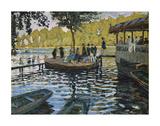 La Grenouillere, 1869 Prints by Claude Monet