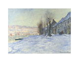 Lavacourt, under Snow, ca. 1878-1881 Prints by Claude Monet