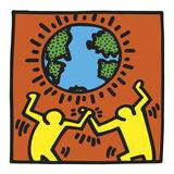 KH02 Láminas por Keith Haring