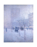 Late Afternoon, New York, Winter, 1900 Art by Childe Hassam