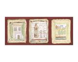 Les petites maisons de Provence Print by Jane Claire