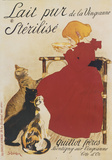 Lait Sterilise Posters by Theophile-Alexandre Steinlen