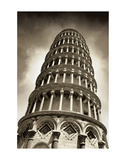 Leaning Tower of Pisa Poster by Christopher Bliss