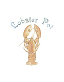 Lobster Pot Prints by Edward Lowe