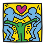 KH11 Affiches par Keith Haring