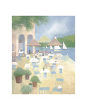 Lunch at the Yacht Club Prints by Albert Swayhoover