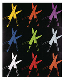 Knives, 1981-82 (multi) Poster by Andy Warhol