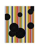 Multiple Universe, No Lines Prints by Dan Bleier