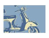 Motoretta Art by John W. Golden