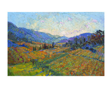 Napa in Color Poster by Erin Hanson