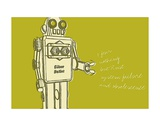 Lunastrella Robot No. 1 Prints by John Golden