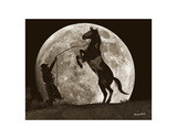 Moon Dance Prints by Barry Hart