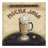Mocha Java Posters by Lisa Audit