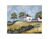 Mt. Vernon Print by Barbara Jeffords