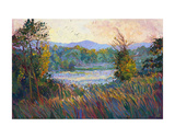 Morning Mist Prints by Erin Hanson