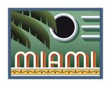 Miami Affiche par Steve Forney