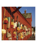 Motif with Buoys Prints by Leslie Mueller