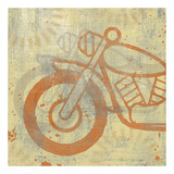 Motorcycle I Prints by Erin Clark