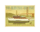 Nautical Escapes 5 Prints by Carlos Casamayor