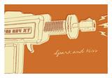 Lunastrella Raygun No. 1 Posters by John Golden