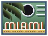 Miami Posters af Steve Forney
