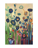 Meet Me In My Garden Dreams Pt. 1 Print by Jennifer Lommers