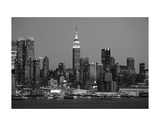 New York Skyline Art by Chris Bliss