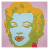 Marilyn Monroe (Marilyn), 1967 (pale pink) Posters af Andy Warhol