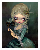 Marie Masquerade Poster by Jasmine Becket-Griffith