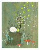 Midsummer Poster by Kristiana Pärn