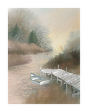 Marsh Island Inlet Poster by Albert Swayhoover